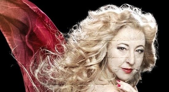 Carmen Machí es un peculiar Helena de Troya en  Juicio a una zorra de Miguel Arco