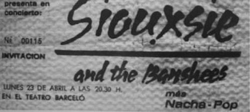 Nacha Pop – Madrid, 23  – Abril – 1979