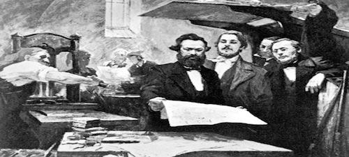 Los artículos periodísticos de Marx