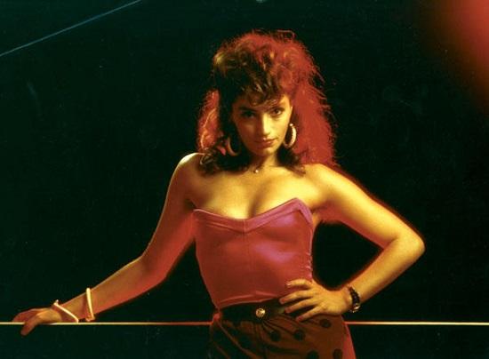 Ángela Molina en Lola rodada en 1985