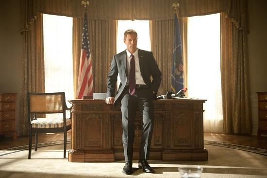 Gerard Butler en Objetivo: Casa Blanca (2013) de Antoine Fuqua