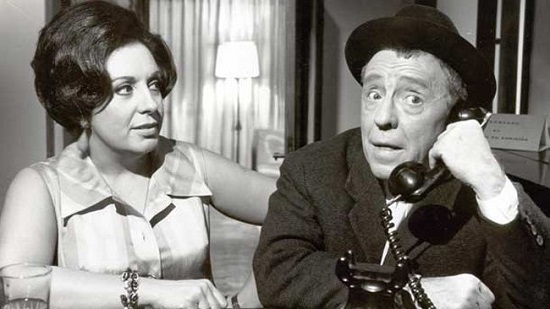 Florinda Chico (Badajoz, 1925–Madrid, 2011) con Paco Martínez Soria