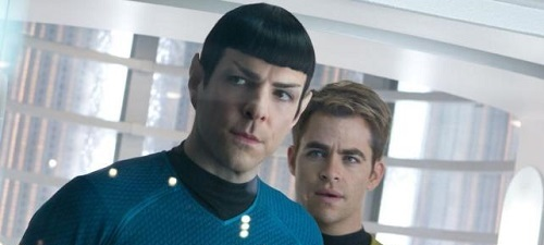Star Trek, en la oscuridad, de J.J. Abrams.