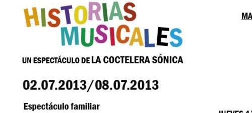 Historias Musicales en la Sala Berlanga