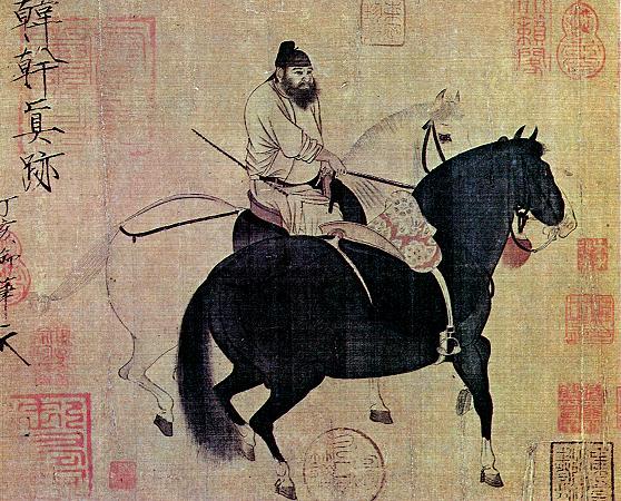 han-gan-pintura-china-caballos-realismo