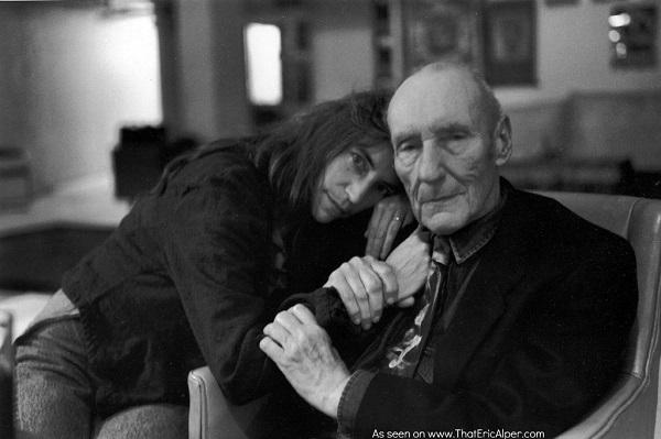 Patti-Smith-and-William-S.-Burroughs