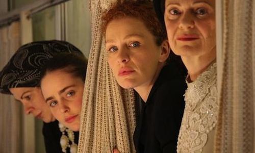 Las mujeres de la película.