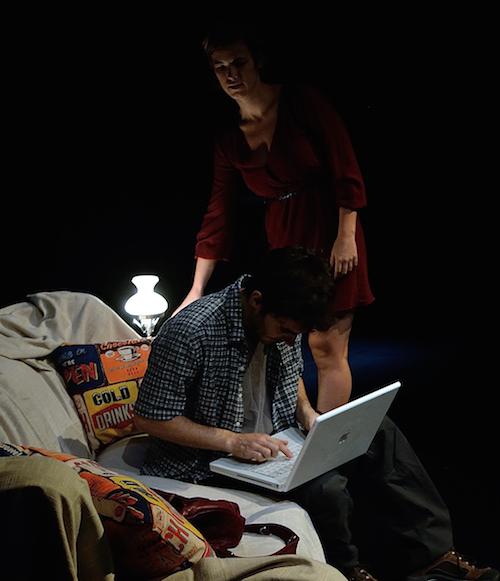 39 DEFAULTS 1 - Teatro Guindalera - con Juan Caballero y Ana Adams - foto de JC Lucas