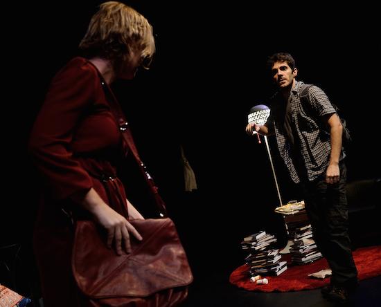 39 DEFAULTS 8 - Teatro Guindalera - con Juan Caballero y Ana Adams - foto de JC Lucas