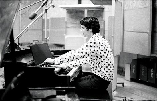 """Al Kooper en las sesiones de grabación de """"Like a Rolling Stone"""""""