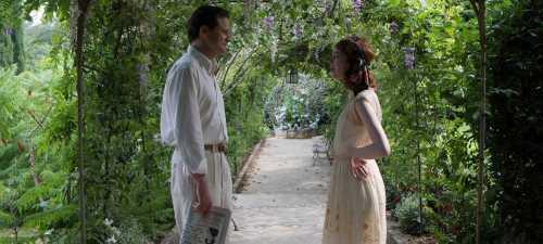 Colin Firth y Emma Stone en 'Magia a la Luz de La Luna'