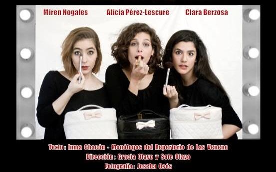 """Cartel de la función """"Sí, vale, vale, chao"""", de Inma Chacón, autora de este artículo, que actualmente se representa en Madrid en La Nao 8 Teatro, con gran éxito."""