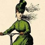 Damas en bicileta, de F. J Erskine