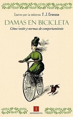 Damas en bicicleta impedimenta