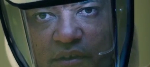 Laurence Fishburne es un misterioso personaje en 'La señal'