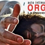 """""""ORGIAme, la depravación del YO"""" un acto íntimo de Santi Senso con público desnudo"""