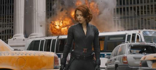 Scarlett Johansson vuelve a encarnar a La viuda negra en Vengadores La era de Ultrón