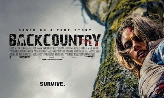 """Póster de """"Backcountry"""", de Adam Macdonald"""