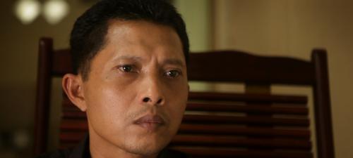El hermano de un hombre asesinado durante el genocidio  indonesio es uno de los protagonistas de La mirada del silencio