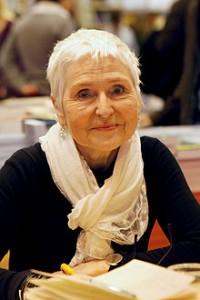 Herbjørg Wassmo en el Salón del Libro de París, en 2011 (Foto Thesupermat)