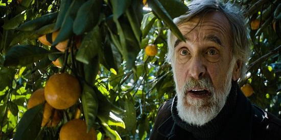 "Ivo (Lembit Ufsak) es un carpintero estonio en ""Mandarinas"""