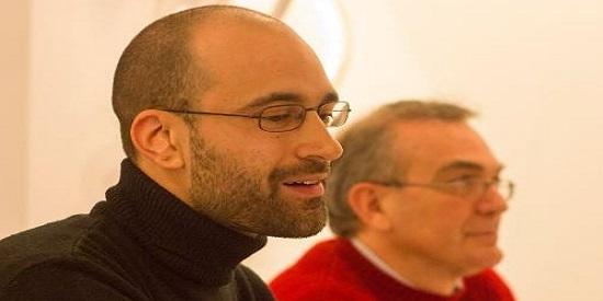 Jerónimo García Tomás en la presentación de su libro de relatos