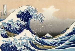 """""""La gran ola a su paso por Kanagawa"""", de Katsushika Hokusai"""