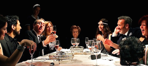 WICHITA FALLS, una cena de familia escrita por Angélica Briseño.