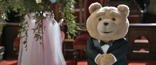 El oso de peluche con la voz de Seth MacFarlane decide casarse en Ted 2