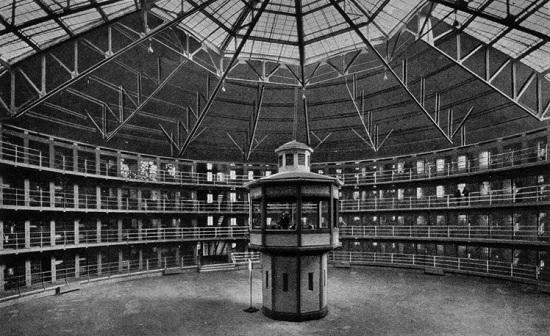 Panóptico-de-Jeremy-Bentham
