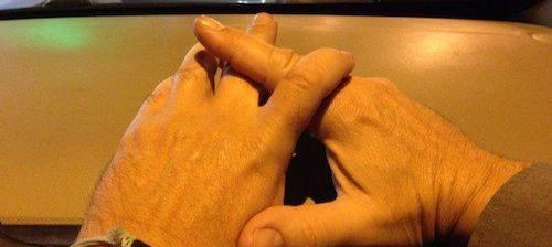 Las arrugas de las manos
