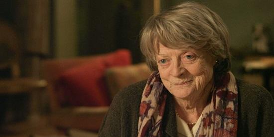 """La veterana actriz Maggie Smith, personaje carismático de """"Mi casa en París""""."""