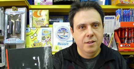 Octavi Serret, el librero de Vallderrobres que convoca la cita anual.