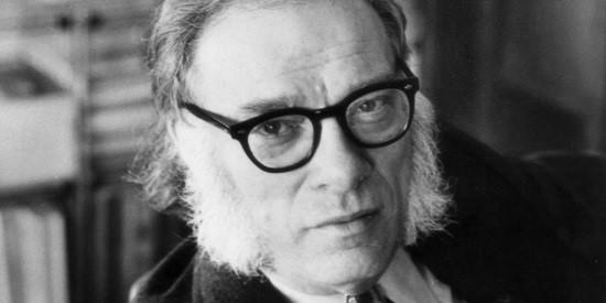Isaac Asimov es otro de los referentes de Elia Barceló.