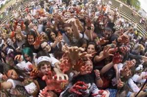 zombies felices