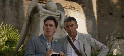 Rob Brydon, y Steve Coogan en The Trip To Italy