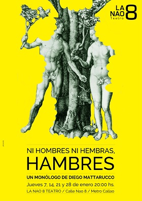 CARTEL HAMBRES - la nao 8 (alta calidad)