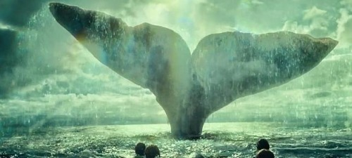 La ballena blanca vuelve a tener su lugar dentro de En el corazón del mar