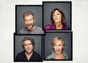Los cuatro protagonistas