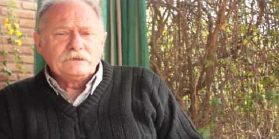 Raúl Argemí, escritor que antes fue guerrillero del ERP y estuvo encarcelado.