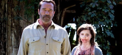 Arnold Schwarzenegger y Abigail Breslin encarnan a un padre y su hija en Maggie