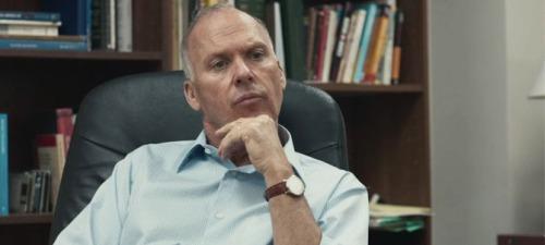 Michael Keaton interpreta al jefe del equipo de investigación del periódico The Boston Globe en Spotlight