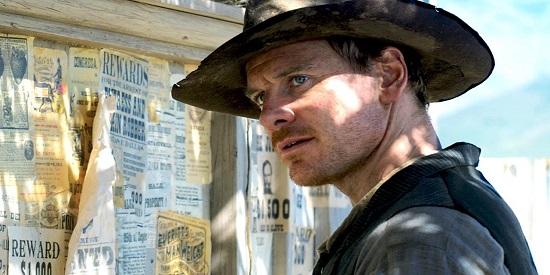 Michael Fassbender demuestra su versatilidad al encarnar al coprotagonista de este su primer western.