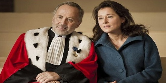 "Sidse Babett Knudsen acompaña a Frabrice Luchini en ""El juez"" de Chirstian Vincent."