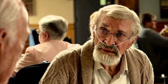 Martin Landau, otro de los veteranos de esta cinta del armenio Aton Egoyan.