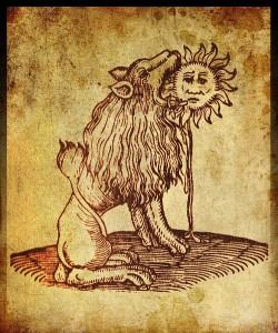 león sol alquimia