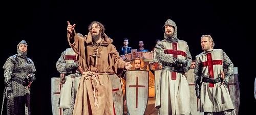 """Se estrena """"La conquista de Jerusalén por Godofre de Bullón"""", un Cervantes por sorpresa"""