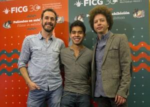 Gabriel Ripstein, Krystian Ferrer y Michel Franco.