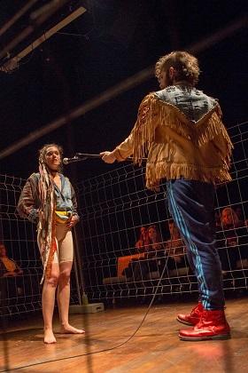 En la imagen Ana Rujas y Santi Senso, Foto Nacho Lopez