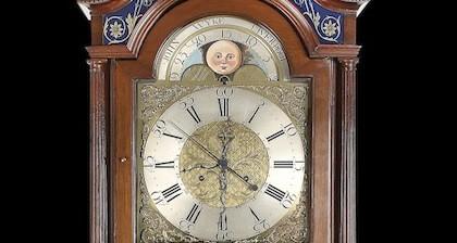 El reloj de pie